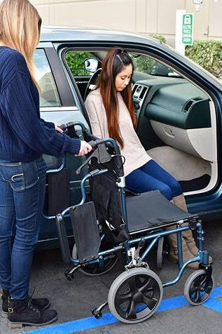wheelchair for stroke patients