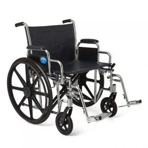 Medline Excel Extra-Wide Wheelchair